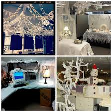 Decorate Your Cubicle Winter Wonderland Office Decorating Ideas Office Table