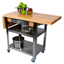 decorating ideas elegant john boos kitchen cart with wheels and
