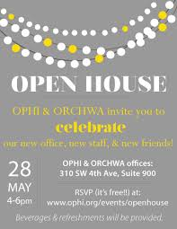 Open House Invitation Ophi Open House U2013 Ophi