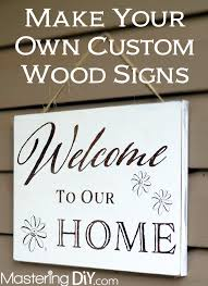 25 best custom wooden signs ideas on pinterest making signs