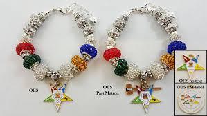 charm bracelet european images Order of the eastern star european charm bracelet oes charm jpg