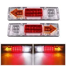 trailer tail lights for sale 2pcs 12v 19 led car truck trailer tear tail stop light indicator