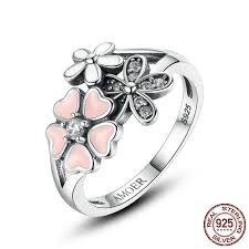 beautiful finger rings images Beauty of flowers cute finger ring crafted from silver and paved jpg