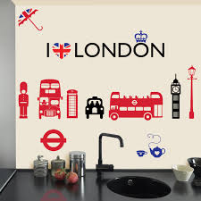 london skyline wall decal city cityscape by wallstargraphics love london wall stickers decals