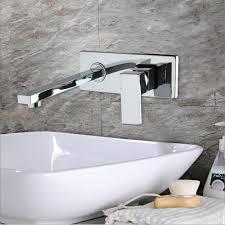 wall mounted bathroom tap bathtub waterfall faucet chrome ys 8829b
