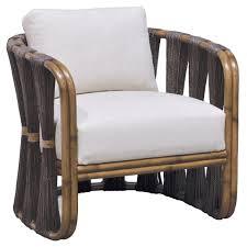 Palecek Chairs Palecek Strings Attached Dark Lounge Chair