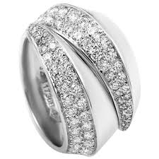 gold bands rings images Cartier yellow gold diamond pave band ring at 1stdibs jpeg