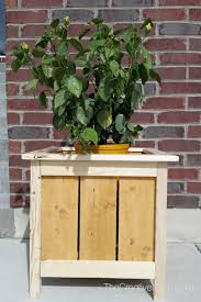 How To Build A Planter by How To Build A Planter Box The Creative Mom
