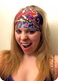 wide headband violet headbands discount happy balance
