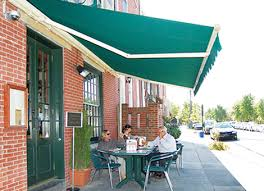 business awnings and canopies commercial awnings restaurant store business awnings