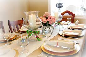 dining room beautiful dining table decoration with round dining