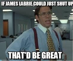 James Labrie Meme - if james labrie could just shut up on memegen