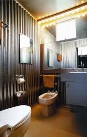 rustic industrial bathroom interior tiny house plans tiny wonder if i could pull these corrugated tin walls off in my tiny