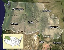 Map Of Idaho And Washington by A Regional Stream Temperature Model To Aid Climate Vulnerability