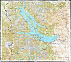 Map Of La Area Download Topographic Map In Area Of San Carlos De Bariloche La