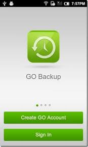 android sms backup go backup for android backup restore apps app data contacts sms