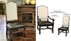 Leather Dining Room Chairs With Arms Dining Chairs World Linen And Leather Dining Chairs Linen