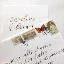 Where Does Stamp Go On Envelope The Inner Envelope U2014 Allie Hasson Modern Heirloom Wedding