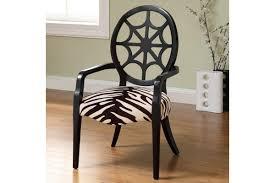 Laminate Floor Pad Funiture Laminate Floor Under Zebra Accent Chairs With High Black