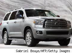 toyota sequoia recall sequoia suv joins toyota s growing safety recall list aol