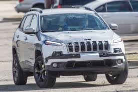 purple camo jeep 2018 jeep cherokee prototype hints at single unit headlights