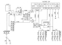 circuit and wiring diagram daewoo korando turn signal and hazard