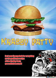 Spongebob Krabby Patty Meme - i never wanted a krabby patty that much by angro09 meme center