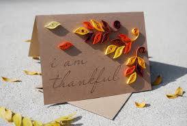 items similar to handmade fall thanksgiving card quilled paper on