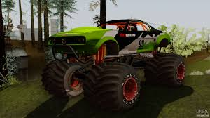 monster trucks bigfoot 5 gta 5 vapid big foot for gta san andreas