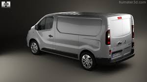 renault van 360 view of renault trafic panel van 2014 3d model hum3d store