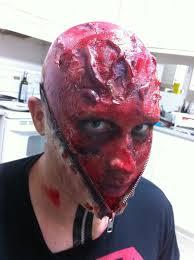 zipper face make up tutorial a halloween costume recap vampire