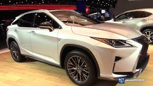 lexus rx interior 2017 lexus rx 350 f sport exterior and interior walkaround