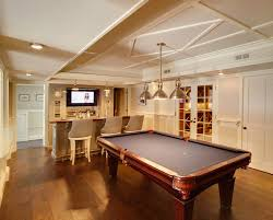 Games For Basement Rec Room by 15 Stunning Transitional Basement Design Basements Basement