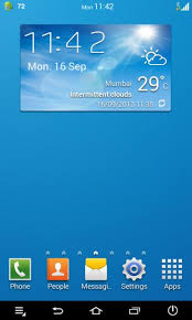 accuweather android app how to install galaxy s4 launcher weather widget on any android