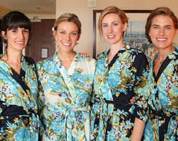 blue floral robe etsy
