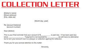 business collection letter letter idea 2018