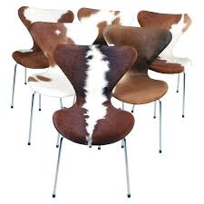 Chairs U2013 Jeff Spugnardi Cowhide Dining Chairs Cowhide Furniture 272 For Sale At 1stdibs