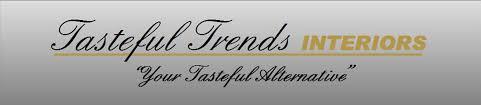 home interiors logo tasteful trends interior design tile wood floors carpet