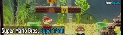 mario bros tank home aquaria