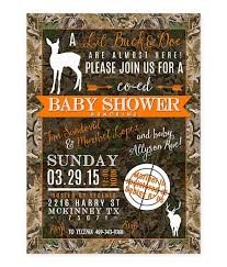 camo baby shower invitations shower invitations archives lot paperie