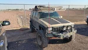 tan jeep cherokee 1996 jeep cherokee xj crawler dd