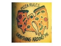 12 awesome pizza tattoos