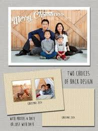 double sided christmas card year in review by laceyfields on etsy
