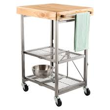 small kitchen island on wheels kitchen island carts the container store