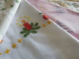 Christmas Table Cloths by More Tablecloths Than Tables