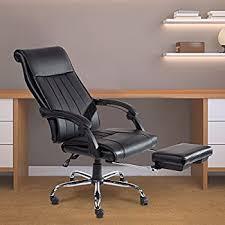 amazon com flash furniture high back black leather executive
