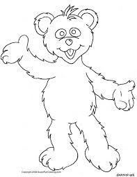 pictures cartoon bears kids coloring