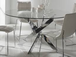 table de cuisine moderne en verre table ronde de cuisine gallery of awesome table de