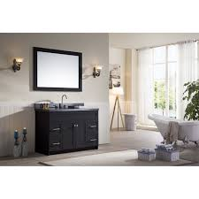 bathroom wall mirror design with single sink vanity ideas plus