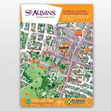 map of st albans albans map